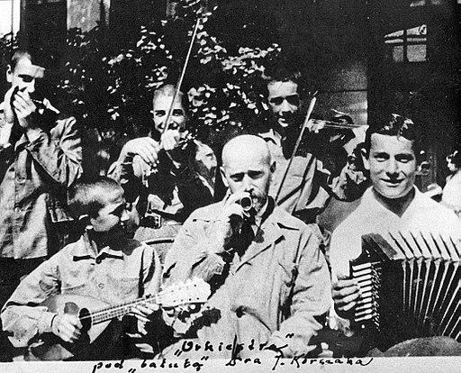 Dom Sierot orkiestra pod batutą Janusza Korczaka 1923