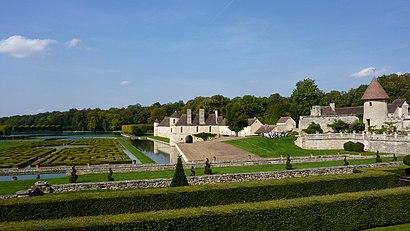 Comment aller à Château de Villarceaux en transport en commun - A propos de cet endroit