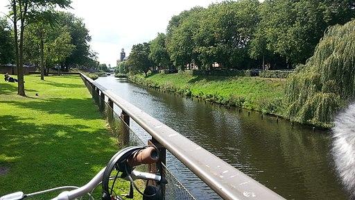Dommel aan Sint Janssingel 's-Hertogenbosch