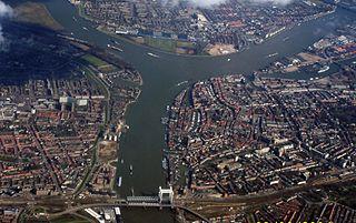 Drechtsteden subregion in the Netherlands