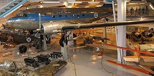 1978 Finnish Air Force DC-3 crash - DO-4, sister ship to the accident aircraft on display in the Aviation Museum of Central Finland