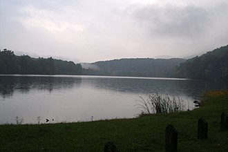 Douthat State Park - Douthat Lake