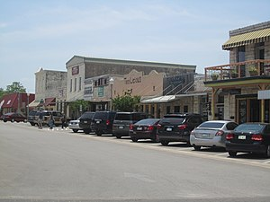 Burnet, Texas - Image: Downtown Burnet, TX IMG 1997