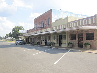 Oil City, Louisiana - Downtown Oil City
