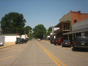 "St. Joseph, Louisiana - Plank Road is the ""main street"" of St. Joseph."