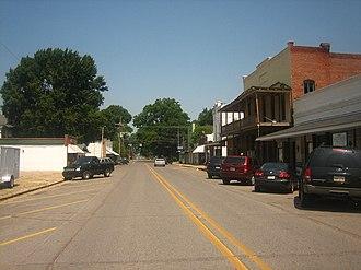"St. Joseph, Louisiana - Plank Road is the ""main street"" of St. Joseph."