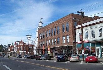 Tilton, New Hampshire - Image: Downtown Tilton 5