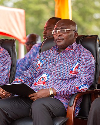 Mahamudu Bawumia - Bawumia attending the 60th Anniversary of the Baptist Medical Centre in Nalerigu, Ghana on November 8, 2018.