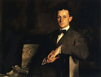 Harvey Cushing - Dr. Harvey Cushing, 1908; oil on canvas, Edmund C. Tarbell
