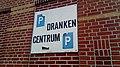 Dranken Centrum parking sign, Winschoten (2019) 02.jpg