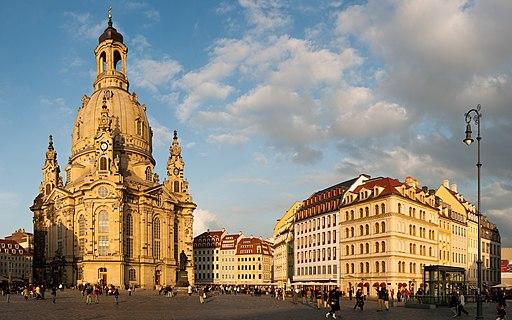 Dresden, Frauenkirche, Panorama
