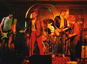 Th' Dudes - Th' Dudes at the Cricketers' Arms, Wellington, New Zealand. 1980.