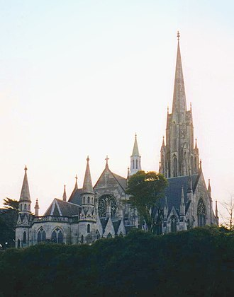 Robert Lawson (architect) - The First Church: The rear of the building shows the true architecture and extravagant European basilica-like quality of the church, which shocked its early congregation.