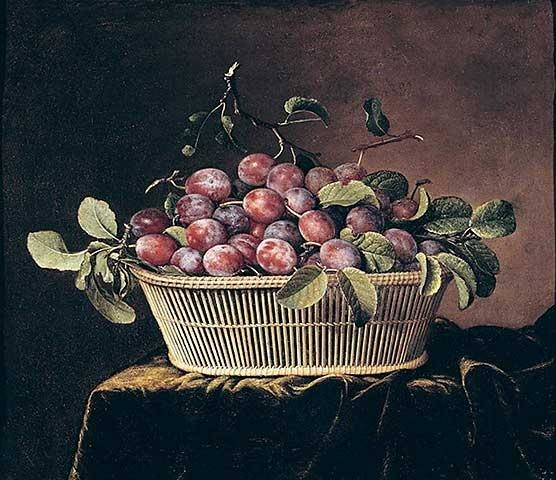 Dupuis, Pierre - Basket of Plums
