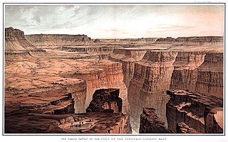 History of the Grand Canyon area