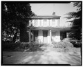EAST (FRONT) ELEVATION - Eliza Stamm House, Gruber Road (Penn Township), Mount Pleasant, Berks County, PA HABS PA,6-MTPLES.V,2-1.tif