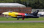 EGTD - Hawker Hunter F58 - G-PSST Miss Demeanour (43986338652).jpg