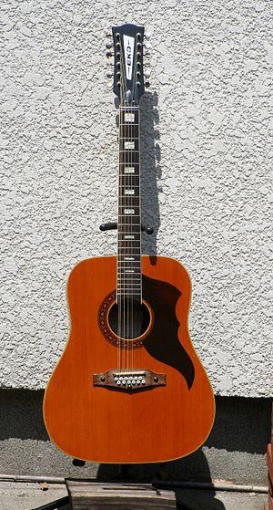 Eko guitars - Image: EKO RANGER 12