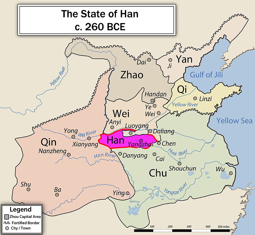 Location of Han
