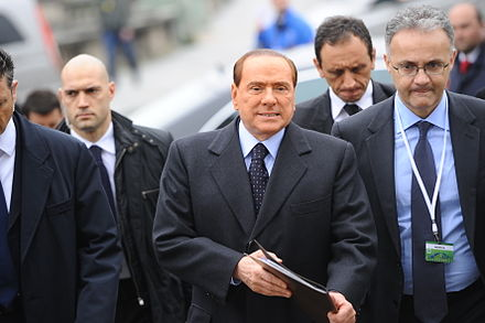 Berlusconi at the EPP summit in March 2012 EPP Summit March 2012 (49).jpg