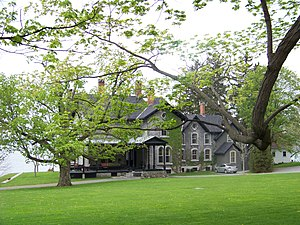 National Register of Historic Places listings in Cayuga County, New York - Image: E B Morgan House