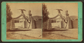 Eagle Gate and school house of Pres't B. Young, by Savage, C. R. (Charles Roscoe), 1832-1909.png