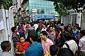 Earthquake Leads Office Evacuation - Ashram - Sector-V - Salt Lake City - Kolkata 2015-04-25 5981.JPG