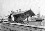 East Norwood Passenger Train Station Norwood Ohio Near Forest Avenue And Harris Avenue 1894