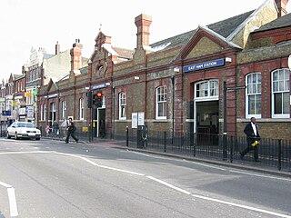 East Ham tube station London Underground station