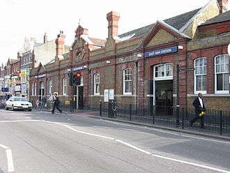 East Ham tube station - Entrance to High Street North