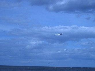 Sunderland International Airshow - Image: Eastern Airways One Northeast Jetstream.DJM