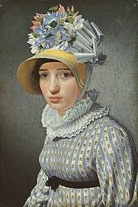 Eckersberg, C.W.- Portræt af modellen Maddalena eller Anna Maria Uhden.jpg
