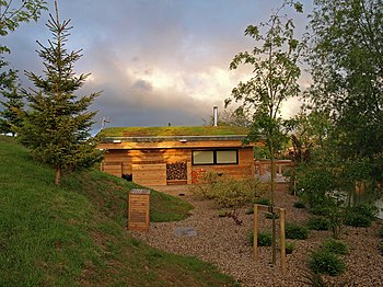 English: Eco-Lodge Situated around Brompton La...