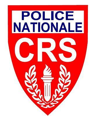 Compagnies Républicaines de Sécurité - CRS patch