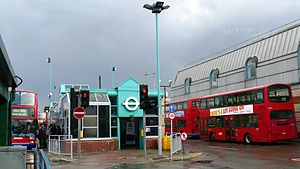 Edgware - Edgware bus station.