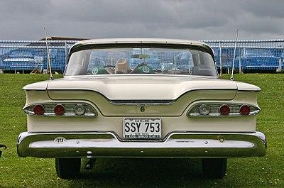 1959 Edsel Ranger 2 Door Rear