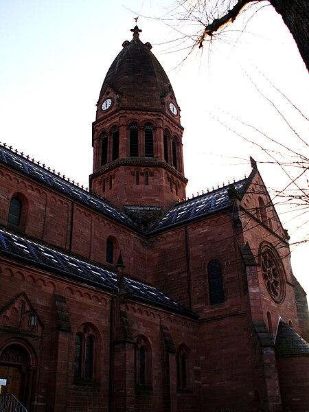 Eglise de Saint-Louis-lès-Bitche (Moselle)
