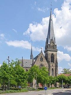 St Maurices Church, Strasbourg Roman Catholic church in Strasbourg, France