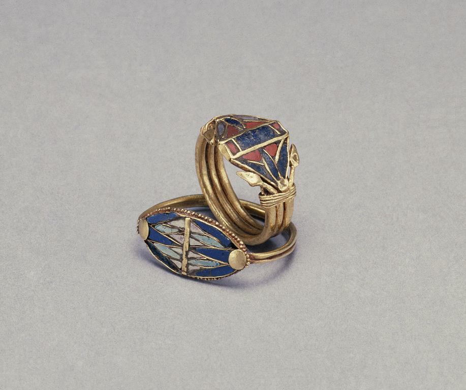 Cut Glass Rings