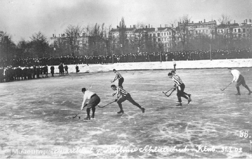 Eishockey Leipzig 1909