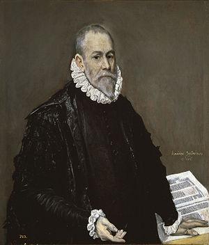 Portrait of a Doctor - Image: El Greco, retrato de un médico