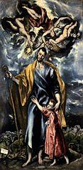 St Joseph and the Christ Child
