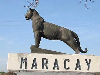 Maracay - The jaguar, symbol of the Maracaya Indians