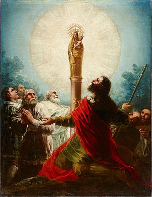Español: Francisco de Goya, El apóstol Santiag...