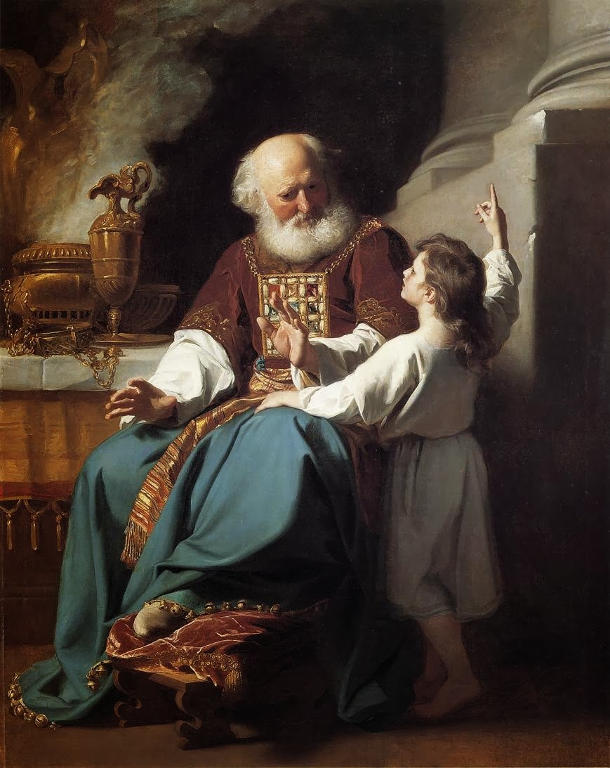 עלי ושמואל. ציור מעשה ידי ג'ון סינגלטון קופלי משנת 1780.