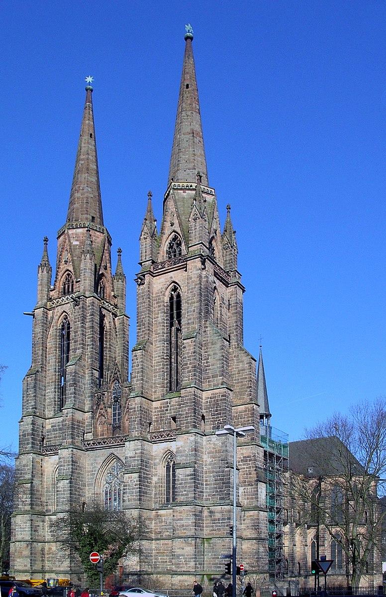 Церковь Елизаветы в Марбурге  Архитектура и строительство