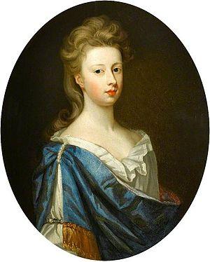 John Cutts, 1st Baron Cutts - Elizabeth Cutts, John Cutts' second wife