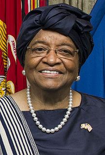 Ellen Johnson Sirleaf Former President of Liberia