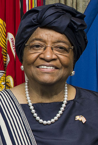 Ellen Johnson Sirleaf - Image: Ellen Johnson Sirleaf February 2015