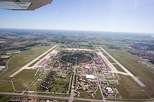 Randolph Air Force Base - Aerial photo from 2500 feet